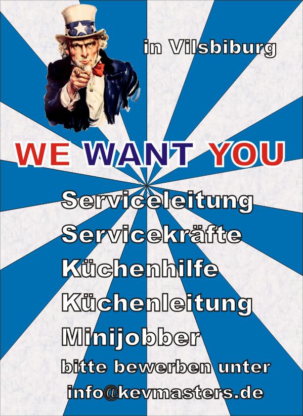 Stellenanzeige | Servicekräfte gesucht | Jobs